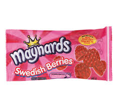 Swedish Berries 64g 18s - Candy - Mondelez (Cadbury) - Tevan Enterprises Confectionary