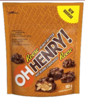 Oh Henry Peanut Butter Mini's 180g 12's, Chocolate and Chocolate Bars, Hershey's, [variant_title] - Tevan Enterprises