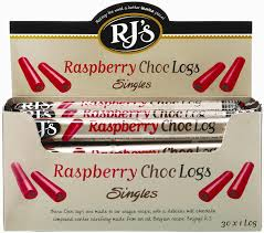 RJ's Licorice Log Raspberry/Choc 30/40g, Licorice, Star Marketing, [variant_title] - Tevan Enterprises
