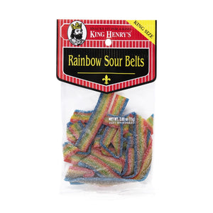 King Henry Rainbow Sour Belts