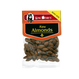 King Henry Raw Almonds