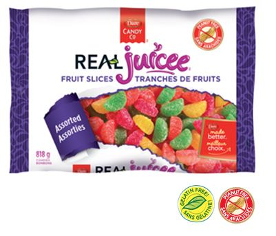 Dare Real Juicee Fruit Slices 12 x 818g, Candy, Dare Foods, [variant_title] - Tevan Enterprises