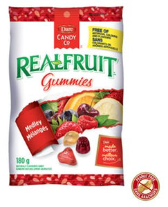 Dare Real Fruit Gummies 180g 12s, Candy, Dare Foods, [variant_title] - Tevan Enterprises
