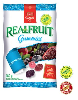 Dare Real Fruit Gummies Superfruits 180g 12s