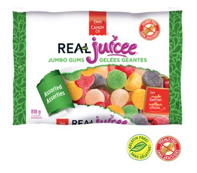 Dare Real Juicee Jumbo Gums 12 x 818g, Candy, Dare Foods, [variant_title] - Tevan Enterprises
