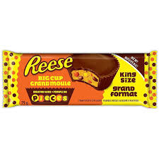 Reese Big Cups Pieces 79g 16's - Chocolate and Chocolate Bars - Hershey's - Tevan Enterprises Confectionary
