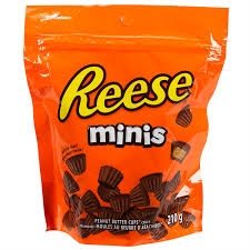 Reese Mini Peanut Butter Cups 210g 12's - Chocolate and Chocolate Bars - Hershey's - Tevan Enterprises Confectionary