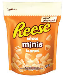 Reese Mini White Cups 210g 12 bags/box - Chocolate and Chocolate Bars - Hershey's - Tevan Enterprises Confectionary