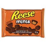 Reese Minis 43g 24s - Chocolate and Chocolate Bars - Hershey's - Tevan Enterprises Confectionary