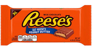 Reese XL Family Bar 120g x 12 - Chocolate and Chocolate Bars - Hershey's - Tevan Enterprises Confectionary