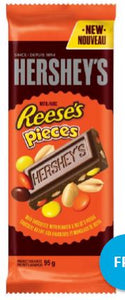 Reese's Pieces Family Bar 105g x 12, Chocolate and Chocolate Bars, Hershey's, [variant_title] - Tevan Enterprises