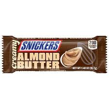 Snickers Creamy Almond Butter 39g, 24 per box, Chocolate and Chocolate Bars, Mars, [variant_title] - Tevan Enterprises