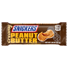 Snickers Creamy Peanut Butter 39g, 24 per box, Chocolate and Chocolate Bars, Mars, [variant_title] - Tevan Enterprises