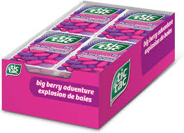 Tic Tac Berry Adventure 29g, 12 per box