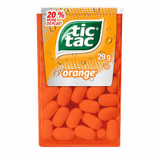 Tic Tac Orange 29g 12's - Mints - Ferrero - Tevan Enterprises Confectionary
