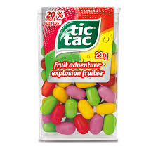Tic Tac Fruit Adventure 29g 12s.., Mints, Ferrero, [variant_title] - Tevan Enterprises
