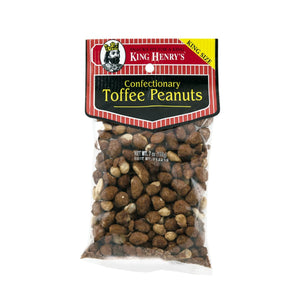 King Henry Toffee Peanuts, Snacks, King Henry, [variant_title] - Tevan Enterprises