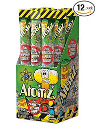 Exclusive Brands Toxic Waste Atomz 60g 12s, Candy, Exclusive Candy, [variant_title] - Tevan Enterprises