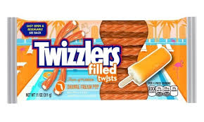 Twizzler Orange Cream Pop Party Pack 343g 12s