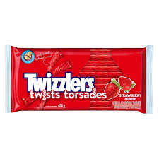 Twizzler Strawberry Party Pack 454g 12/bx