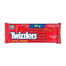 Twizzler Strawberry 90g, 24/pkg, 8 pkg per case