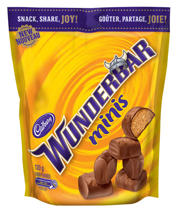 Wunderbar Minis Peg Tops 120g 10's, Chocolate and Chocolate Bars, Mondelez (Cadbury), [variant_title] - Tevan Enterprises