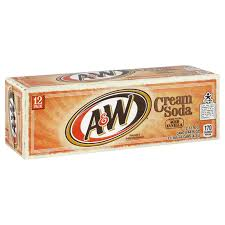 A&W Cream Soda 12/355ml
