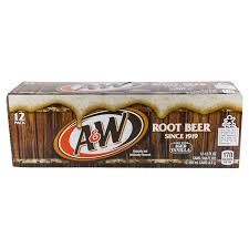 A&W Vanilla Root Beer 12/355ml