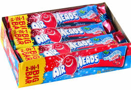 AirHeads Big Bar Blue Rasp/Cherry 42.5g, 24s