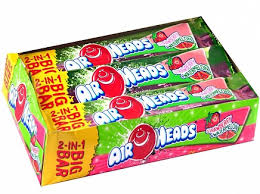 AirHeads Big Bar Strawberry/Watermelon 42.5g, 24s