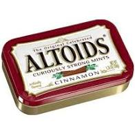 Altoids Tins Cinnamon - Imported 6's