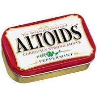 Altoids Peppermint 50g 6/bx