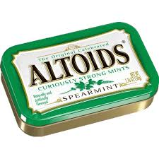 Altoids Tins Spearmint - Imported 6 tins/case
