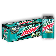 Mountain Dew Baja Blast 12/355ml, Beverage, Tevan Enterprises, Ltd., [variant_title] - Tevan Enterprises