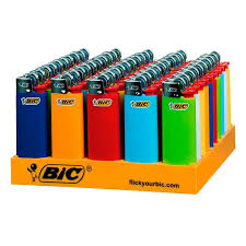 Bic Mini Childguard Lighters 50's