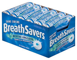 Breathsaver Peppermint 18's