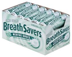 Breathsaver Spearmint 18's