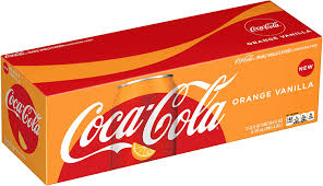 Orange Vanilla Coca Cola Original 12/355ml