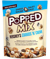 Cookies n Creme Popped Mix 170g 10 per box