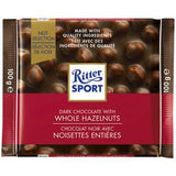 Ritter Sport Dark Whole Hazel 100g 10's
