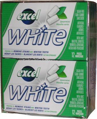 Excel White Spearmint 12's - Gum - Wrigley - Tevan Enterprises Confectionary