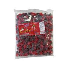 Gummy Zone Sour Cherry Cola Bottles bulk 1kg 12's, Bulk Candy, Morris National, [variant_title] - Tevan Enterprises