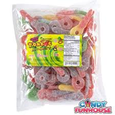 Gummy Zone Super Sour Tongue Tinglers bulk 1kg bag, Bulk Candy, Morris National, [variant_title] - Tevan Enterprises
