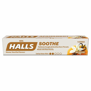 Halls ML Honey Vanilla 20s