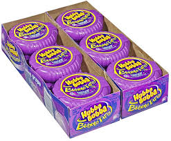 Hubba Bubba Tape Grape. 12 packs/case