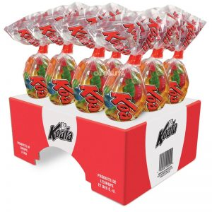 Koala Regular Gummy Kones, 200g 12x2 - Candy - Tosuta - Tevan Enterprises Confectionary