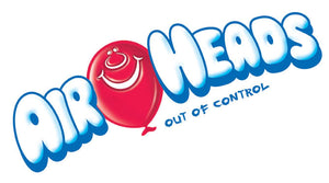 Airheads Blue Raspberry Singles 15.6g, 36's - Candy - Thomas, Large & Singer Inc. - Tevan Enterprises Confectionary