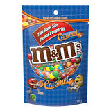 M&M's Caramel Stand Up Pack 185g, 15 per box