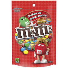 M&M's Peanut Butter Stand Up Pack 230g 12's