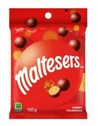 Maltesers Peg Top 100g 24's